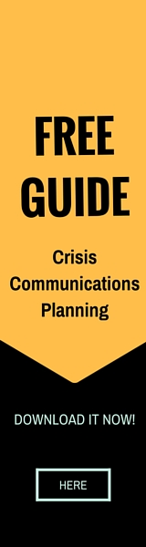 Free Guide - Crisis Communications Planning